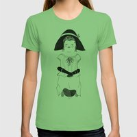 Srta. Asunción Womens Fitted Tee Grass SMALL