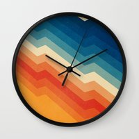 Barricade Wall Clock