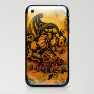 Harvest Time Toile iPhone & iPod Skin