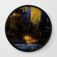 Between dawn and dusk Wall Clock