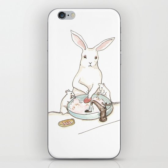 Wash Your Paws iPhone & iPod Skin