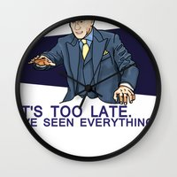 I've Seen Everything Wall Clock