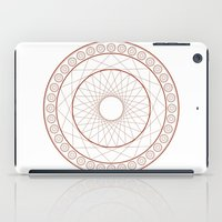 Anime Magic Circle 3 iPad Case