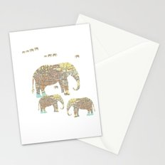 Follow That Elephant Stationery Cards