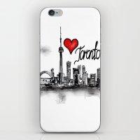 I love Toronto  iPhone & iPod Skin