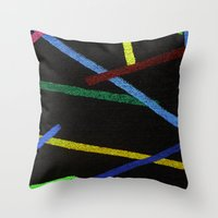 Kerplunk Zoom Throw Pillow