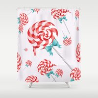Lollies Shower Curtain