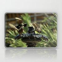 Rowdy Bird Bath Laptop & iPad Skin
