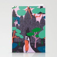 Angkor Wat Temples, Cambodia Stationery Cards
