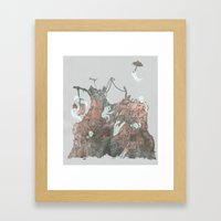 Junkyard Playground Framed Art Print