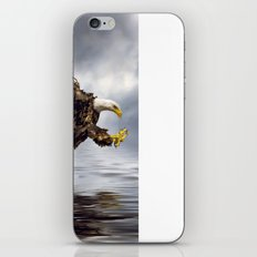 Bald Eagle swooping iPhone & iPod Skin