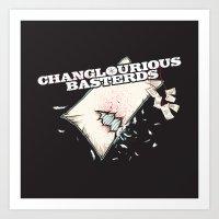 Changlourious Basterds Art Print