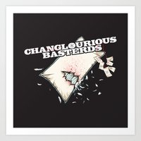 Changlourious Basterds Art Print