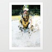 vitriol 7 Art Print