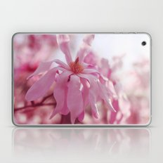pink star magnolia Laptop & iPad Skin