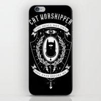 Cat Worshipper iPhone & iPod Skin