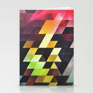 Stationery Cards featuring Syxx-bynyny by Spires