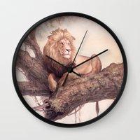 Up a Tree Wall Clock