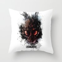 That is when the world will end Throw Pillow