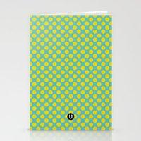 U1: happy dots Stationery Cards