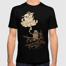 Wow! It's a ship! Black Mens Fitted Tee SMALL