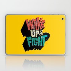 Wake Up And Fight Laptop & iPad Skin