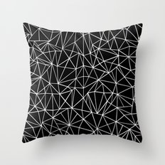 About Black Throw Pillow