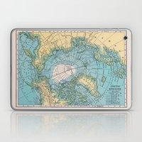Vintage Arctic Map Laptop & iPad Skin