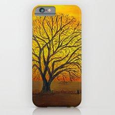 Rural sunset iPhone 6 Slim Case