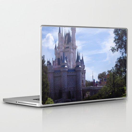 Cinderella's Castle Laptop & iPad Skin