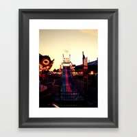 Fun Slide Framed Art Print