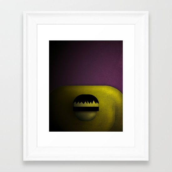 Smooth Heroes - Hulk Framed Art Print
