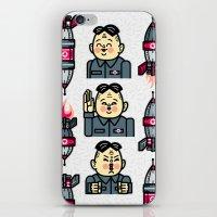 Kim Jong Un Rockets iPhone & iPod Skin
