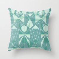 Nordic Combination 34 Throw Pillow