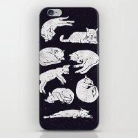Sleeping Cats iPhone & iPod Skin