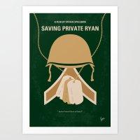 No520 My Saving Private … Art Print