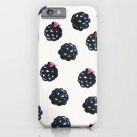 Blackberries Pattern iPhone 6 Slim Case