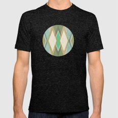 MCM Argyle Mens Fitted Tee Tri-Black SMALL