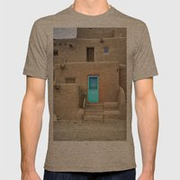Pueblo No. 1 Mens Fitted Tee Tri-Coffee SMALL