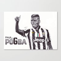 Paul Pogba Canvas Print