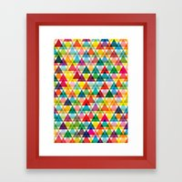 Tryangl Framed Art Print