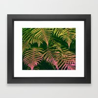 Abstract Tropical Patter… Framed Art Print