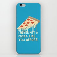 Sweet Pizza iPhone & iPod Skin