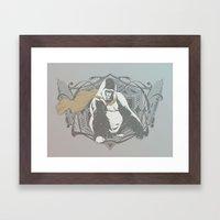 Fearless Creature: Grillz Framed Art Print