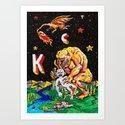 The Kollector Art Print
