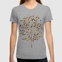 Tree of Life Amber by Jacqueline Maldonado & Garima Dhawan Womens Fitted Tee Athletic Grey SMALL