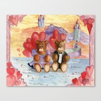 Be My Valentine Canvas Print