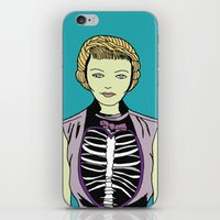 Miss Zombie iPhone & iPod Skin