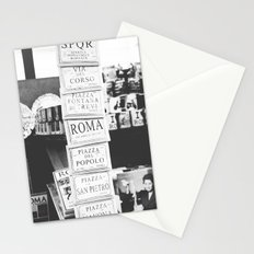 art tiles in Rome Stationery Cards