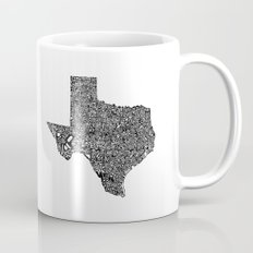 Typographic Texas Mug